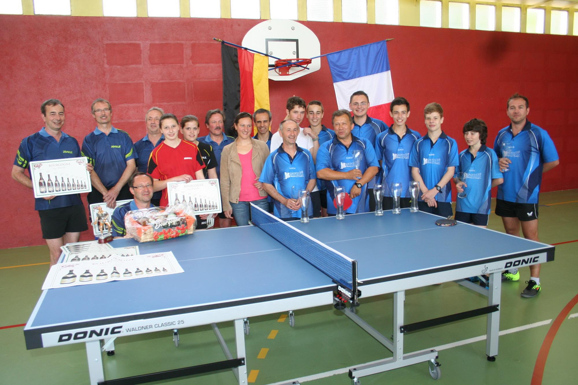 Chagny tennis de table r sultats 5 me journ e phase 2 - Resultat tennis de table hainaut ...